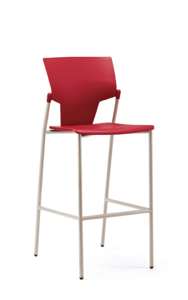 Pledge Ikon High Chair With Plastic Seat And Back With No Arms